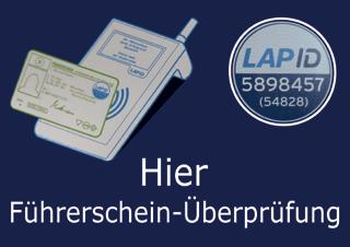 LAP ID Führerschein-Überprüfung fleetwork
