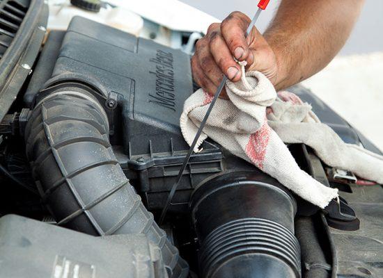 Ölstandprüfung fleetwork